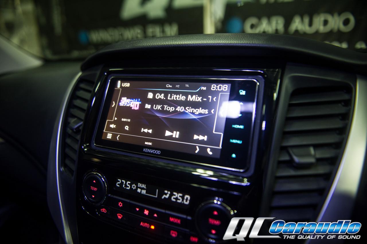 Mitsubishi All New Pajero กับหน้าจอขนาด 200mm Kenwood DDX917ws  และกล้อง Drv-N520