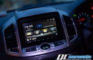 Chevrolet Captiva + Kenwood DDX 9018s ที่มาพร้อมกับระบบ Android