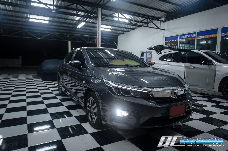 Honda City '2020 กับหน้าจอแบบเต็มจอ Pioneer DMH-ZS8250BT