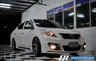 Nissan Almera + One Brand Kenwood