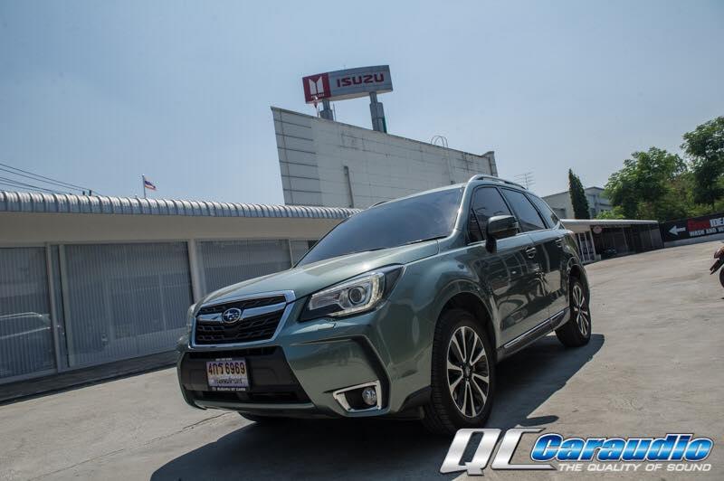 Subaru Forester SJ + Kenwood DDX 9016s