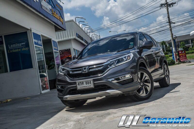 Honda CRV G4 กับชุดเครื่องเสียง Hi-End