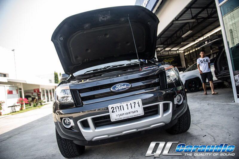 Ford Ranger + Kenwood พร้อมชุดเครื่องเสียงอัพเกรด