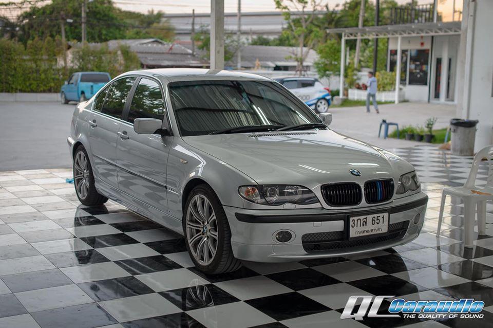 BMW E46 + Kenwood DMX 1025bt และกล้องมองหลัง