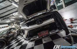 Toyota Fortuner Legender กับ Processor ป้ายแดงจาก Alpine