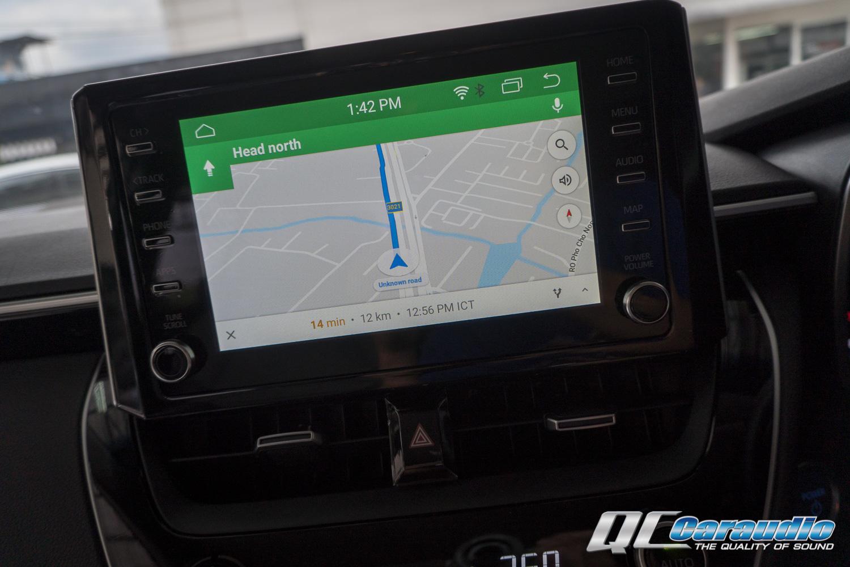 Toyota Altis '20  + Droid Master ที่ช่วยเปลี่ยนวิทยุรถคุณให้เป็น Android