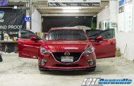 Mazda 3 + ชุดลำโพง Morel
