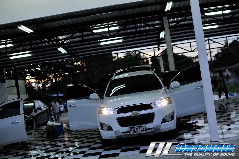 Chevrolet Captiva + คู่หู Hi-end Kenwood + Focal