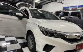 Honda City Hatchback + Pioneer 8