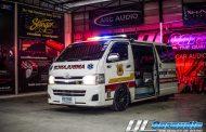Toyota Commuter : รถพยาบาลสุด Cool !!