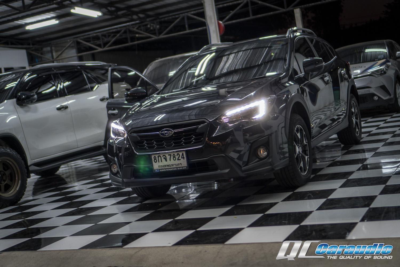 Subaru XV + หน้าจอ Alpine 9