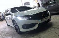 Honda Civic FC พร้อมชุด dsp + ลำโพง Focal