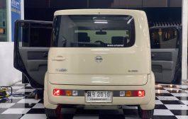 Nissan Cube กับชุดอัพเกรดลำโพงหน้า-หลัง-เบสบ็อก