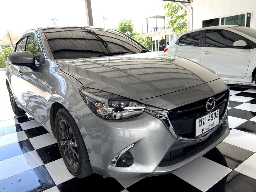 Mazda 2 + จอแอนดรอยตรงรุ่น