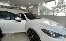 Mazda 3  ติดฟิล์ม Super Ceramic V-Dupont