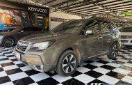 Subaru Forester SJ + Kenwood DMX 718wbt