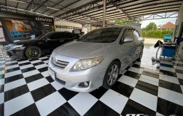 Toyota Altis + Jvc kw-m740bt