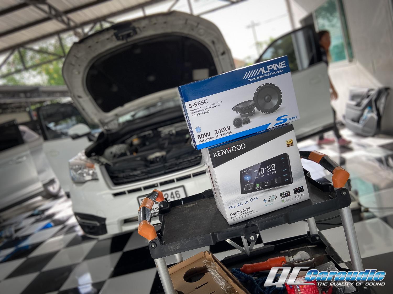 Subaru Forester SJ + Kenwood Dmx 820ws