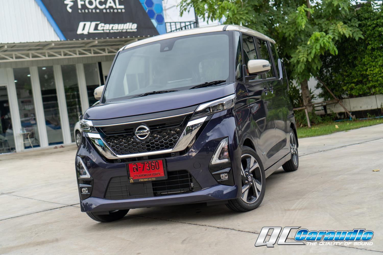 Nissan Roox + วิทยุ Kenwood Dmx 9720xs หน้าจอ 10.1 นิ้ว ใหญ่เต็มตา