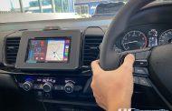 Honda City Hatchback + Jvc Kw-M740bt พร้อมกล้องมองถอยหลัง