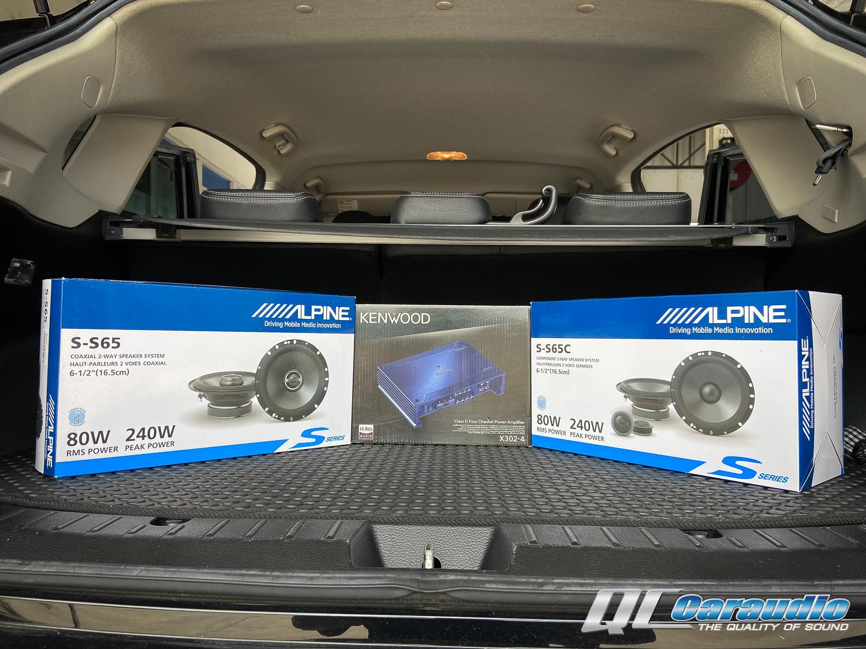 Subaru XV + Alpine Upgrade 9,900