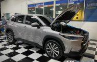 Toyota Cross พร้อมชุด Alpine Upgrade Set