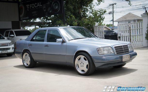 Benz W124 รถคลาสสิค กับ สไตล์เพลงสุดคลาสิคกับชุดเครื่องเสียง Alpine & Focal