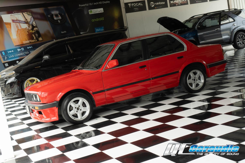 BMW E30 กับลำโพงชุดอัพเกรดจาก Focal