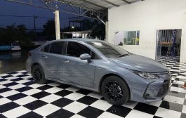 Toyota Altis มาขอเพิ่ม Dsp + amp รุ่นใหม่ล่าสุดจาก Alpine Pxe-R500