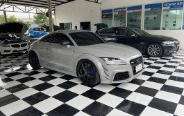 Audi TT RS for Kenwood Dmx8020s พร้อม Dsp + Amp เพื่ออัพเกรดชุดลำโพง Bose เดิม
