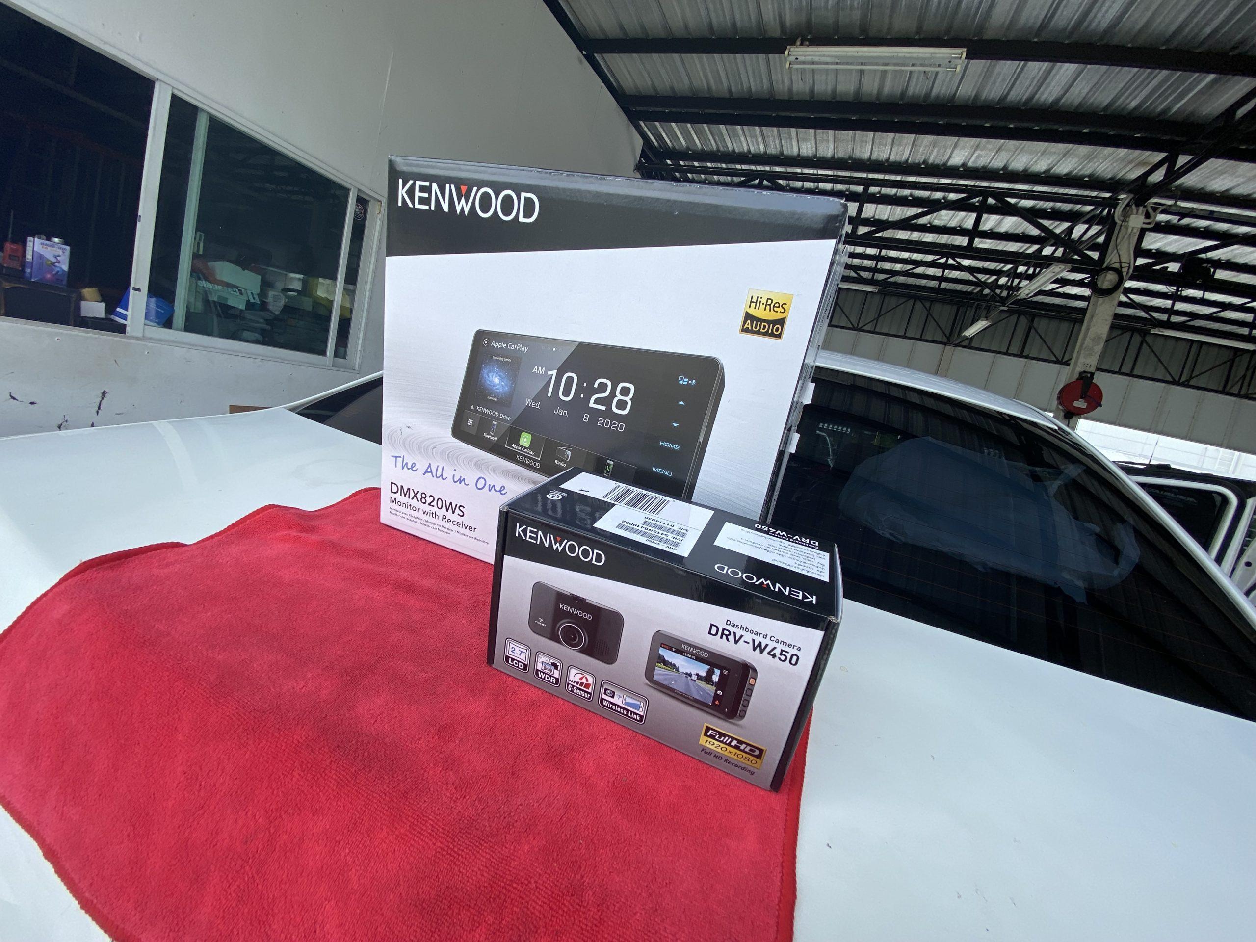 Toyota Vios มาจัดหน้าจอ Kenwood Dmx820ws หน้าจอเต็มกรอบ สวยงาม สบายตา